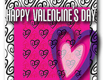 Valentine Card Designs by April Galamin