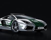 Dubai Police - Lamborgini Aventador