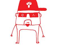 Marcadores ilustraciones