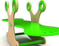 Ekore, juegos de madera