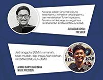 Collection - Digital Poster for BEM KEMAKOM 2015/2016