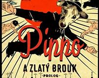 Pippo a Zlatý Brouk - Comiks