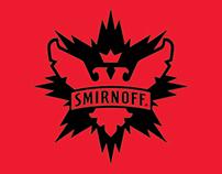 Smirnoff logo concept