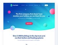 HeatWatch Website Design