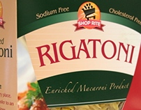 Shop Rite Pasta Box Redesign