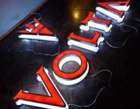 Iluminación LED, cartelería