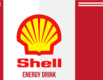 Shell - Energy Drink design