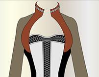 Modern Folk Costume (made in Illustr. & Pho-shop prog )