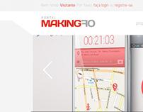 Portal Making Of - Web Design