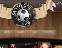 Santo Gol Pub - web site