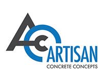 Artisan Concrete Concepts Logo Design