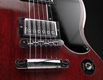 Gibson SG | Polygon modeling