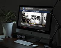 Web Design for PT Aero Sarana