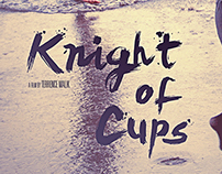 Knight of Cups / fan art poster