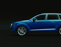 3D:Audi Q7 2016