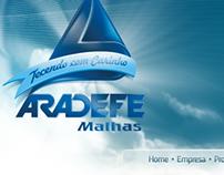 Aradefe Malhas - web site