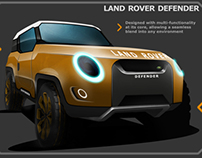Land Rover Defender redesign