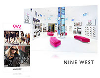 Nine West Flagship Store Interactive Digital Signage