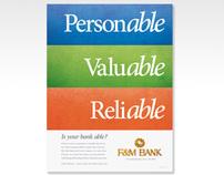 F&M Bank Campaign