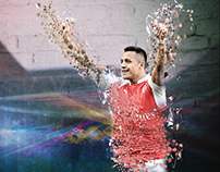 A Graphic Illustration of the Chilean Superstar, Alexis