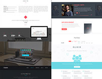 30 Amazing Free PSD Website Templates – January 2015