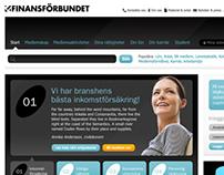 Finansförbundet - redesign 2010