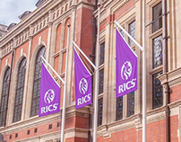 RICS - Brand launch and activation