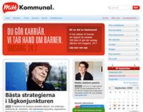 Mitt Kommunal - new website 2010