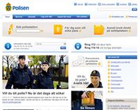 Polisen - redesign 2007/2008