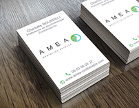 Cartes de visites Amea
