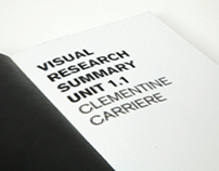 Typology of halftone / Visual Research summary