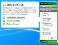 Microsoft Windows Gadget
