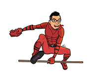 Malaysian Superhero: Cicakman