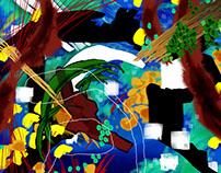 Water Art Digital Painting