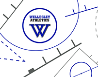 Wellesley Athletics Hall of Fame Induction Backdrop