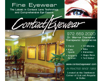 Print advertisement for optical retailer