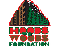 Hoods to Woods logo