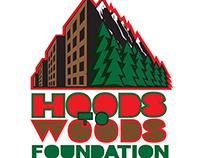 Hoods to Woods logo