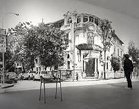 Fanzine Casa Sacco y Vanzetti por el Artista J. Arce