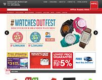 HPC . E-Commerce Website Layout