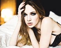 Alena. Models off duty