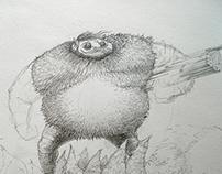 Giant lumberjack