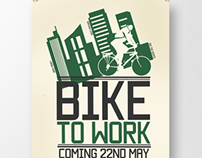 BIKE TO WORK - Poster campaign
