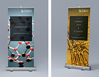 Uni of Surrey — exhibition banners 2017