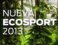 LANZAMIENTO ECOSPORT 2013