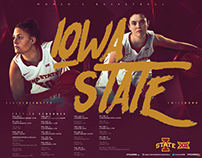 17-18 WBB Ticket Stock/Poster