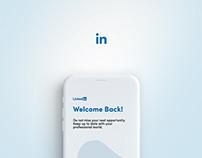 LinkedIn Mobile App   UI/UX Design