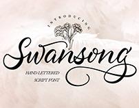 Swansong Script Font