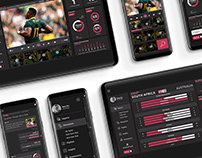 SPORTS TECH UI DESIGN