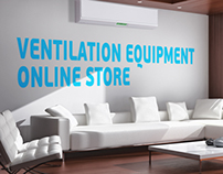 Online shop of ventilation equipment.
